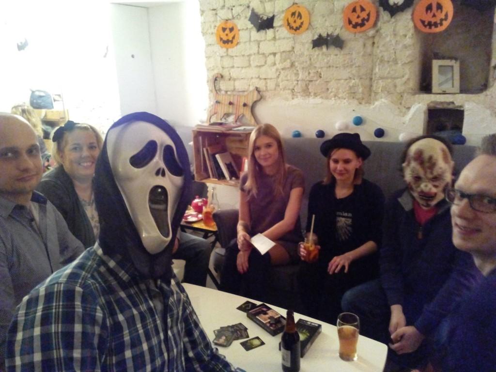 Halloween. Spotkanie w  Koty za Płoty