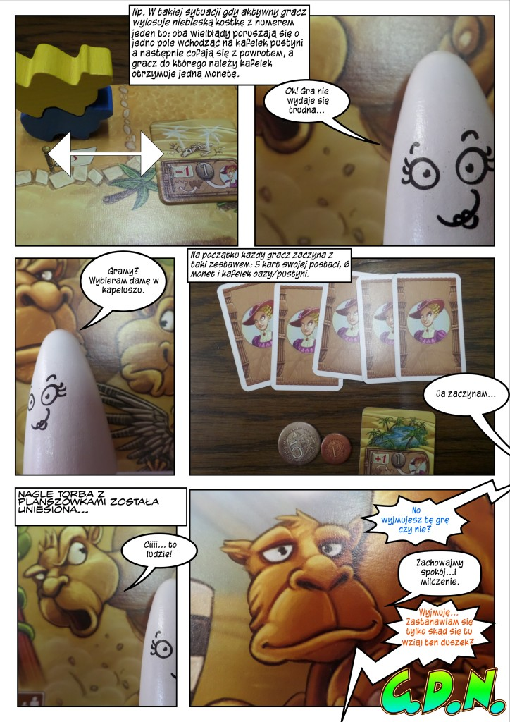 Przebiegłe wielbłądy komiksowa recenzja