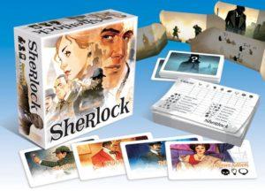 Gra planszowa Sherlock