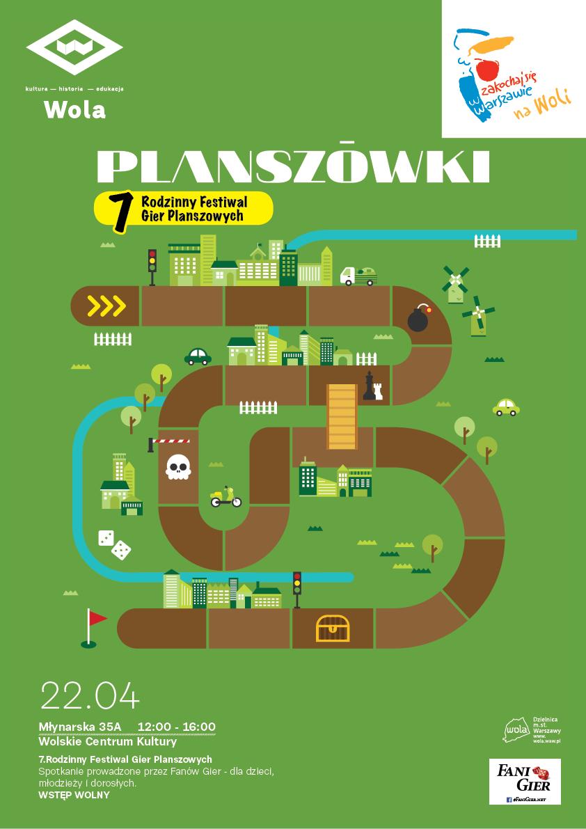 Rodzinny Festiwal Gier Planszowych