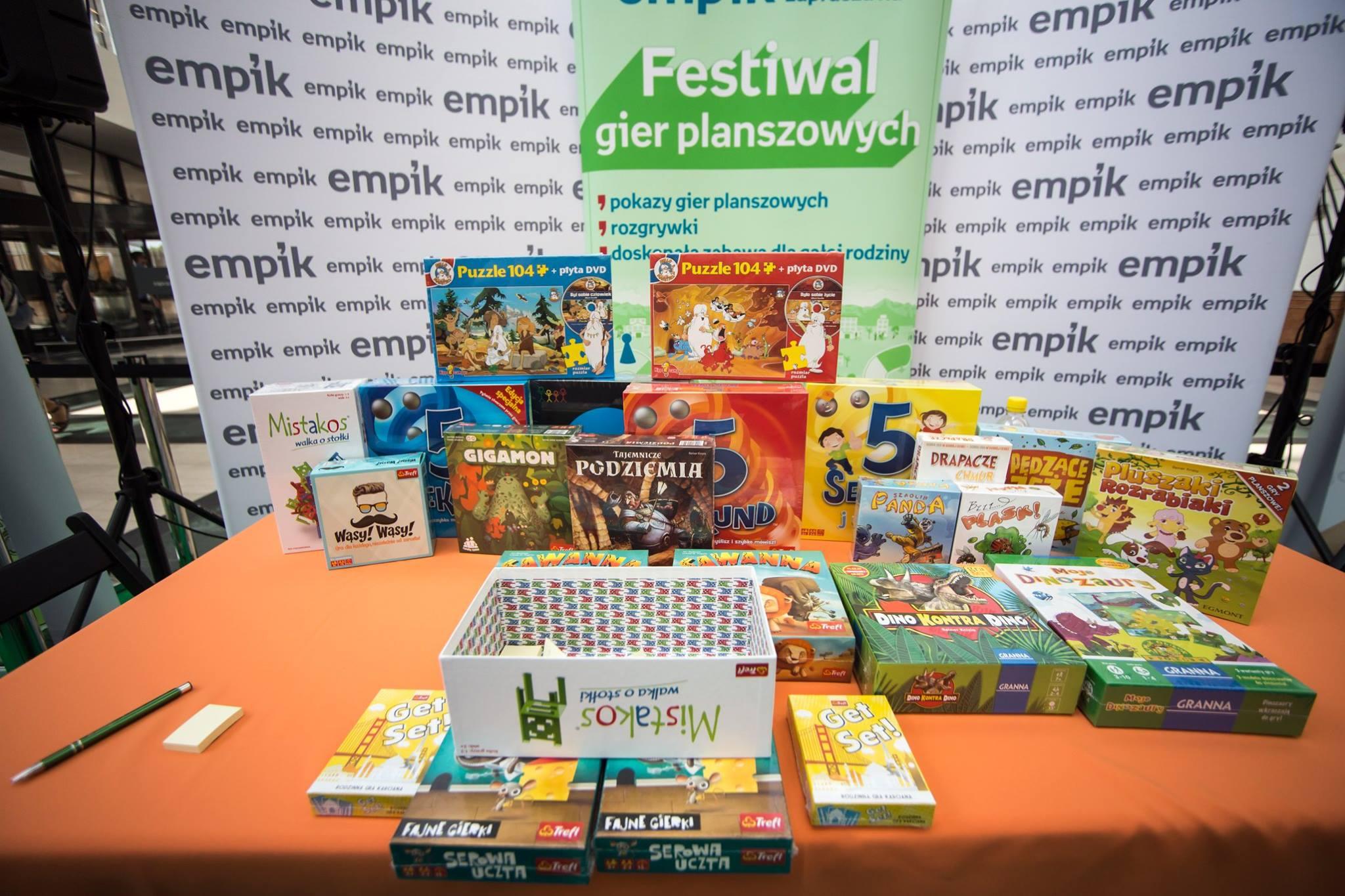 Festiwal Gier Planszowych w Empiku