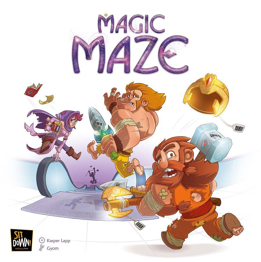 magic maze recenzja