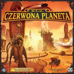 gra planszowa Czerwona Planeta