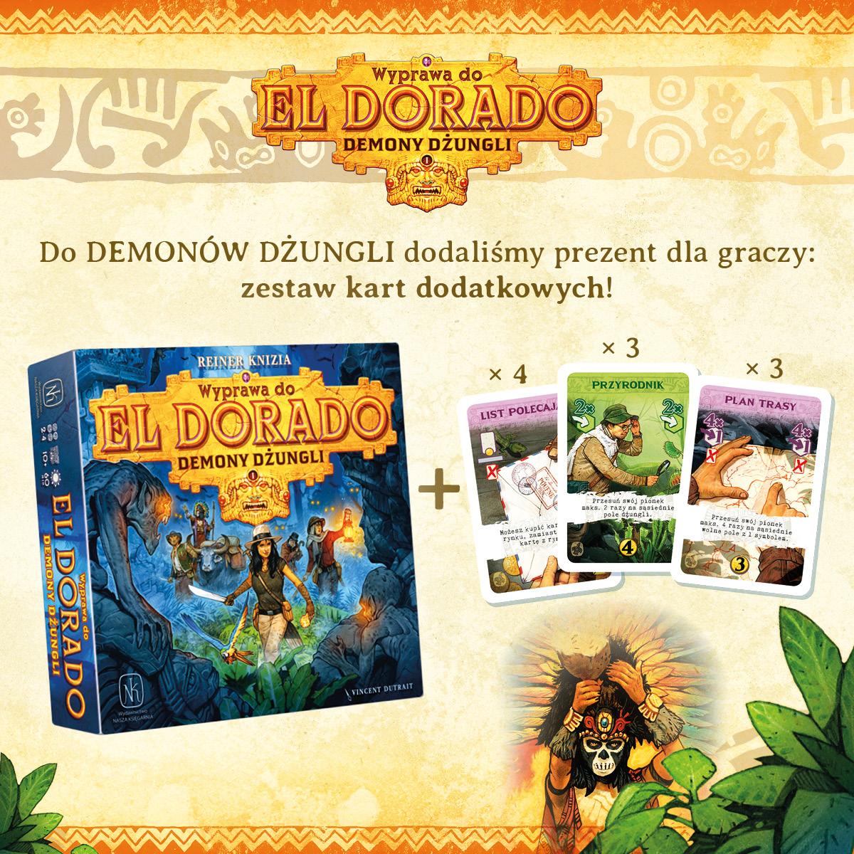 Wyprawa do El Dorado Demony dżungli